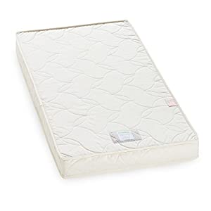 The Little Green Sheep Natural Twist Mattress for Boori and Stokke Home Cot Bed (132 x 70 cm) from The Little Green Sheep