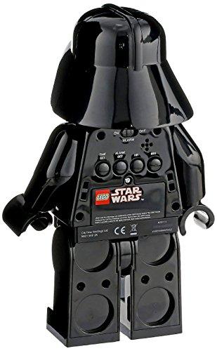 ClicTime-9002113-Lego-Star-Wars-Darth-Vader-Minifiguren-Wecker-schwarz