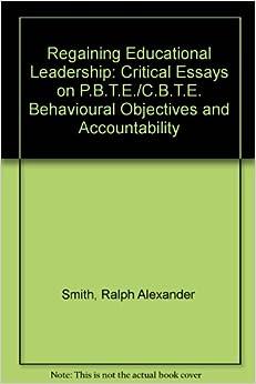 essays on educational leadership