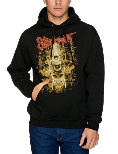 Bravado Slipknot Skull Teeth Men's Sweatshirt Black Medium