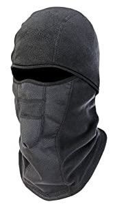 N-Ferno 6823 Wind-proof Hinged Balaclava, Black