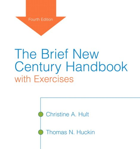 The Brief New Century Handbook with Exercises (4th Edition)