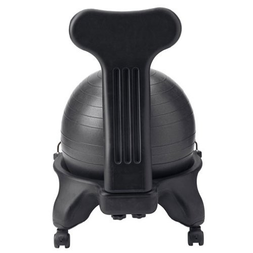 Stability Ball Office: Ivation Balance Exercise Ball Chair – Office-Size 60mm/2