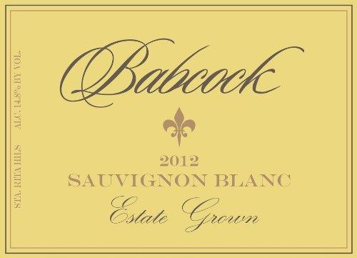 2012 Babcock Sauvignon Blanc Estate Grown Sta. Rita Hills 750 Ml