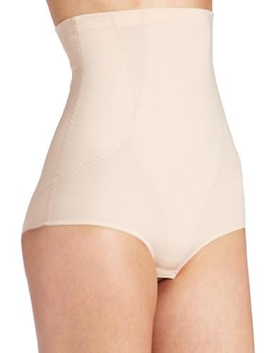 Dr Rey Shapewear Womens Firm Control High Waist Brief Nude 3X