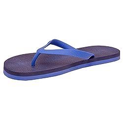 Nike Mens Aquaswift Thong Prt Hyper Cobalt,Midnight Navy Flip Flops Thong Sandals - 7 UK/India (41 EU)(8 US)