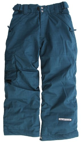 Ride Dart Snowboard Pants Blue Marine Youth Sz XS