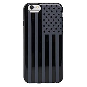 Agent18 iPhone 6 / iPhone 6S Case - FlexShield - Black Flag - Retail Packaging