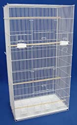Brand New Lot of 2 Aviary Bird Sugar Glider Ferret Cage 30x18x55WHT