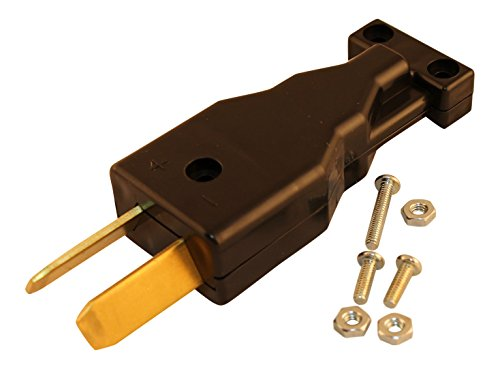 DPI DC Crowfoot Charger Handle Plug For 36 or 48 Volt EZGO Club Car Golf Carts (Crowfoot Plug compare prices)