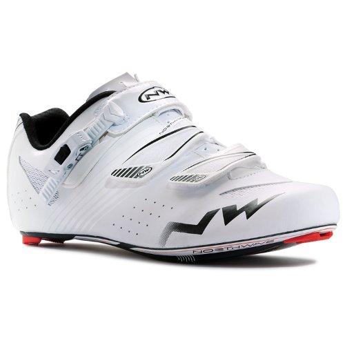 Northwave 2015 Men'S Torpedo Srs Road Cycling Shoe - 80141003-10 (White - 45)
