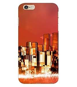 Fuson 3D Printed Pattern Designer Back Case Cover for Apple iPhone 6S Plus - D1085