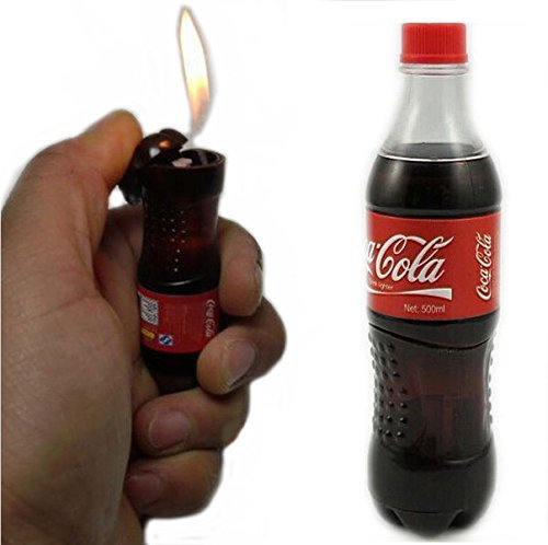 Novelty Cola Drink Bottle Lighter Smoking Gift