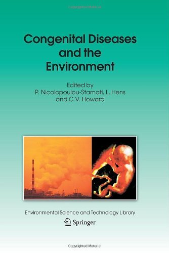 Congenital Diseases And The Environment: 23 (Environmental Science And Technology Library)