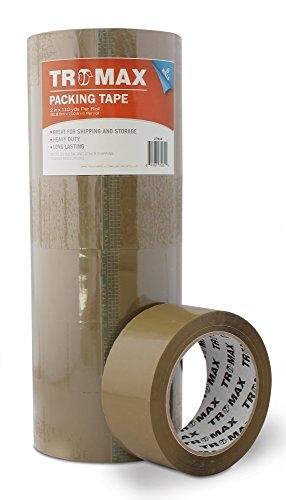 Tromax 6-rolls (Brown/tan) Packing Tape 2