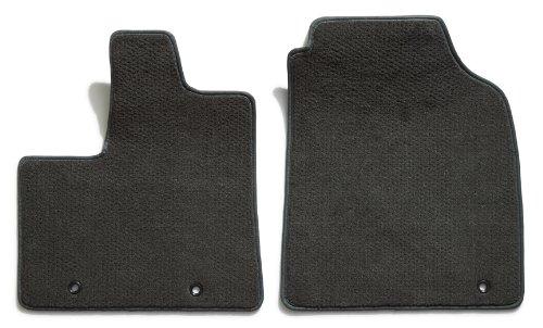 Black Coverking Custom Fit Front Floor Mats for Select Acura Integra Models Nylon Carpet
