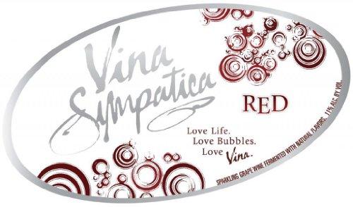 Nv Vina Sympatica Red California Sparkling Wine 750 Ml