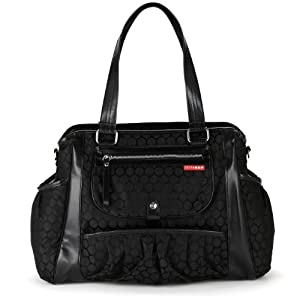 Skip Hop Studio Diaper Bag, Black Dot
