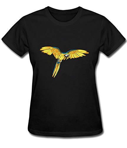 Orchard Plazza Women's Cytarabine Parrot Bird classic shirts black (Parrot Asteroid Mini compare prices)