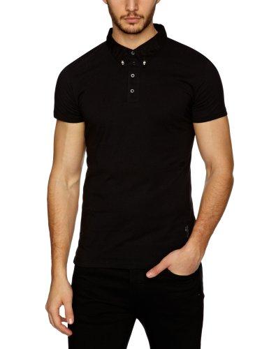 religion B213 PKO26 Polo Shirt Men's T-Shirt Black Large