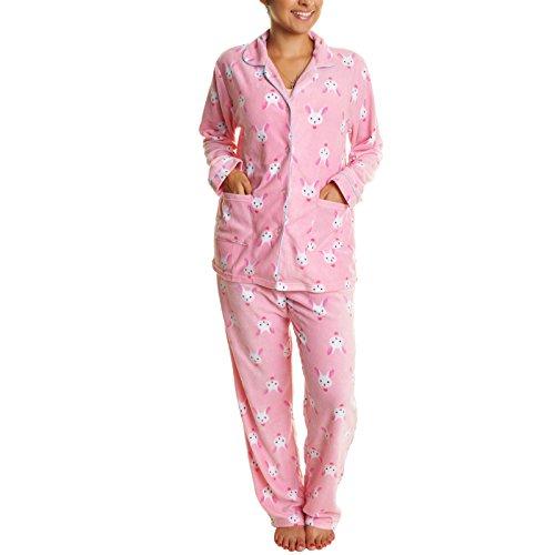 Cozy Fleece Pajama Set #91156 Bunny L