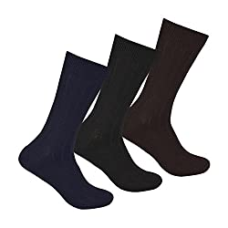INTRODUCTORY OFFER - Supersox Mens Pack of 3 Classic Ribbed Socks (Premium Italian quality)