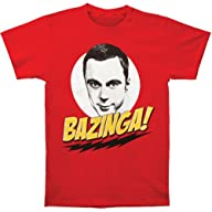 Big Bang Theory Sheldon Bazinga! Men's T-Shirt