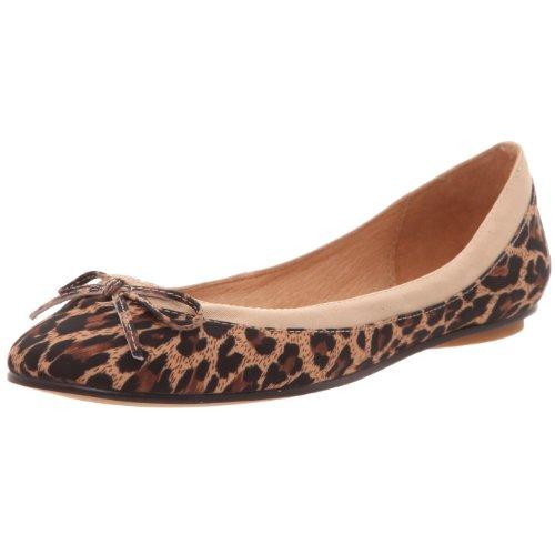 Buffalo 207 3562 Leopard - Ballerine Donna, Multicolore (Tan 56), 41 EU