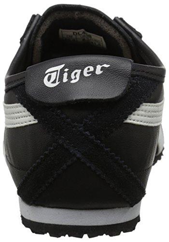 Onitsuka Tiger Mexico 66 Fashion Sneaker, Black/White, 11.5 M Men's US/13 Women's M US