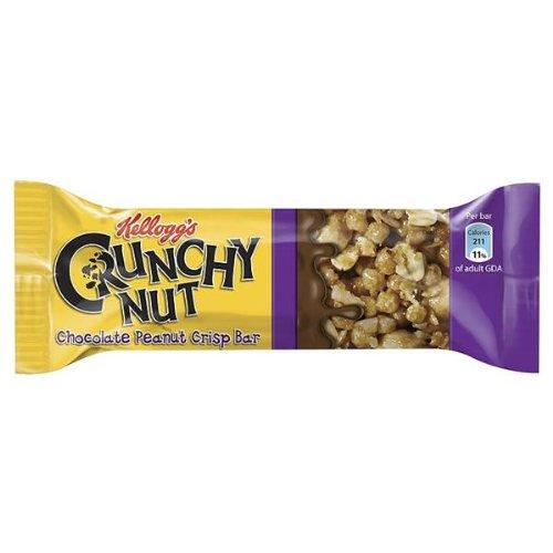 Kelloggs Crunchy Nut Peanut Crisp Bars 24X35G