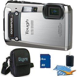 Olympus 4GB Kit Tough TG-820 iHS 12MP Water/Shock/Freezeproof