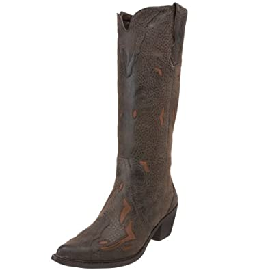 Roper Women's 1556 Western Boot,Brown,6 M US
