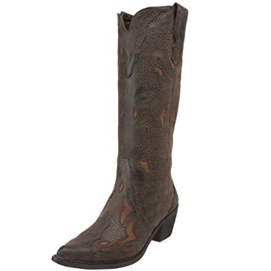 Roper Women's 1556 Western Boot,Brown,11 M US