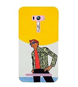 PrintVisa Cool Boy Design 3D Hard Polycarbonate Designer Back Case Cover for Asus Zenfone Selfie