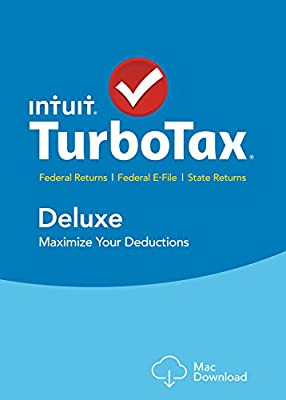 TurboTax Deluxe 2015 Federal + State Taxes + Fed Efile Tax Preparation Software - PC/Mac Disc Twister Parent