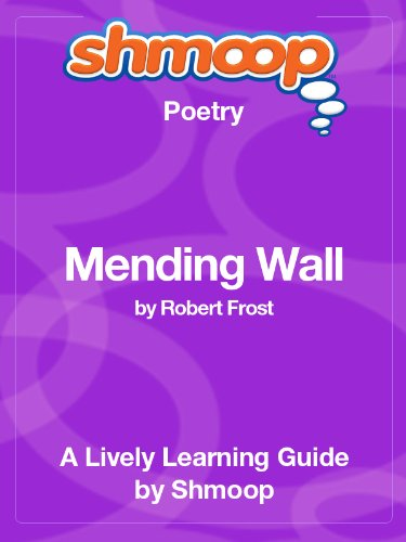 the imagery and cynicism portrayed in robert frosts mending wall