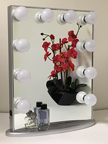Hollywood Glow Vanity Mirror By Impressions Vanity Large american furniture bedroom dresser vanity makeup mirror combination dressing table