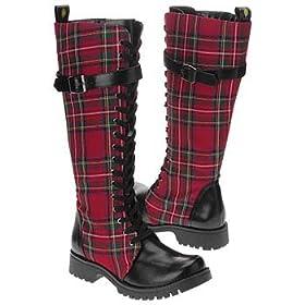 Vegan punk boots