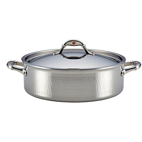 Ruffoni Symphonia Prima 7-Quart Covered Braiser - Stainless Steel