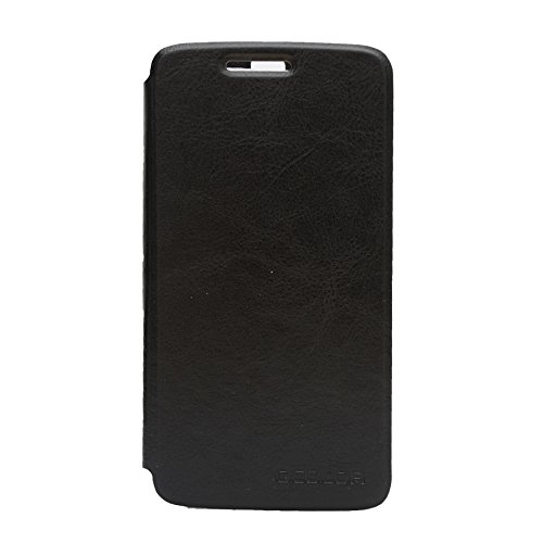 Leather case for Elephone P8000 Slim-Fit Protective PU Leather Case and High-Grade TPU Casing Flip Hard Cases Cover for Elephone P8000 (Black)