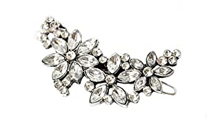 Demarkt Elegant-Bling-Bling Crystal Strass Damen Haarnadel einstellbare Haar Clip Haar Dekoration Schmuck Haarschmuck