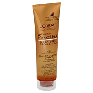L'Oreal Paris EverSleek Repairative Smoothing Shampoo, 8.5-Fluid Ounce