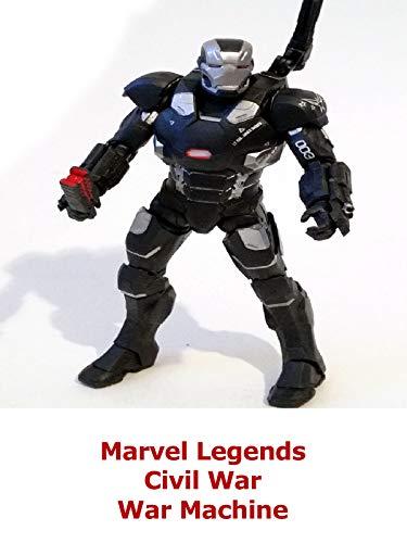 Clip: Marvel Legends Civil War War Machine
