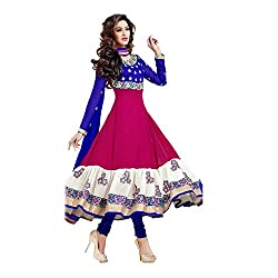 Shree Ganesh Women's Georgette Unstitched Dress Materials [D69]