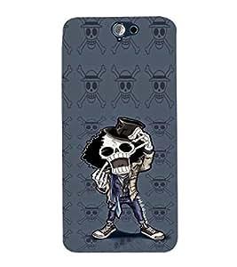 EPICCASE Freeky Skeleton Mobile Back Case Cover For HTC One A9 (Designer Case)
