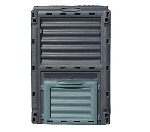 dehner-thermo-komposter-300-liter-ca-80-x-65-x-65-cm-kunststoff-schwarz-grun