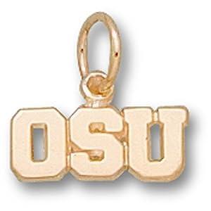Oregon State OSU 3 16 - 14K Gold by Logo Art