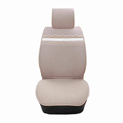 camel-color-car-seat-seat-protector-silica-gel-anti-skidding-nissan-xterra-seat-covers-universal-fit