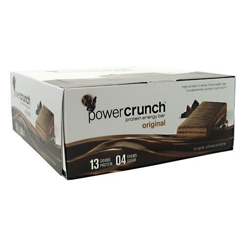 BNRG BNRG Power Crunch Triple Chocolate 12 ea