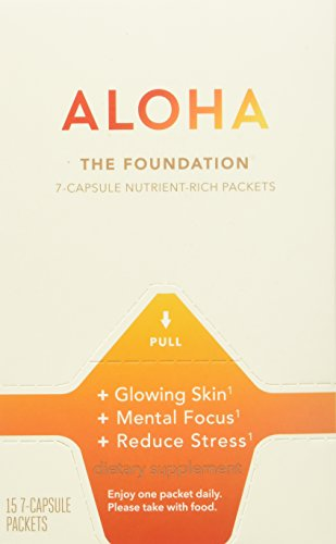ALOHA The Foundation-7 Capsule packets, 15 Count Box (French Melon Extract compare prices)